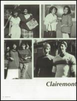 1986 Clairemont High School Yearbook Page 30 & 31