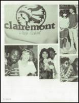 1986 Clairemont High School Yearbook Page 40 & 41