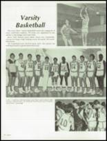 1986 Clairemont High School Yearbook Page 82 & 83