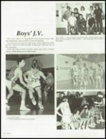 1986 Clairemont High School Yearbook Page 86 & 87