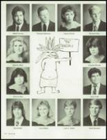 1986 Clairemont High School Yearbook Page 128 & 129