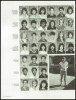 1986 Clairemont High School Yearbook Page 166 & 167