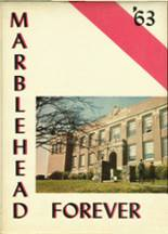 1963 Yearbook Marblehead High School