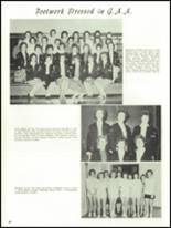 1962 Everett High School Yearbook Page 92 & 93