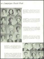 1962 Everett High School Yearbook Page 134 & 135
