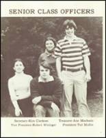 1977 Barnstable High School Yearbook Page 14 & 15