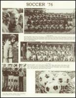 1977 Barnstable High School Yearbook Page 110 & 111