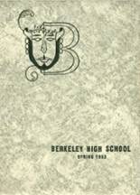 1953 Yearbook Berkeley High School