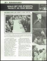 1984 Dayton Christian High School Yearbook Page 24 & 25