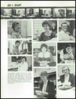 1984 Dayton Christian High School Yearbook Page 26 & 27