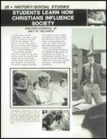 1984 Dayton Christian High School Yearbook Page 30 & 31