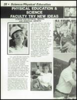 1984 Dayton Christian High School Yearbook Page 32 & 33