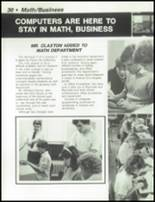 1984 Dayton Christian High School Yearbook Page 34 & 35