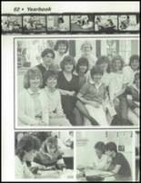 1984 Dayton Christian High School Yearbook Page 66 & 67