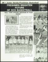 1984 Dayton Christian High School Yearbook Page 90 & 91