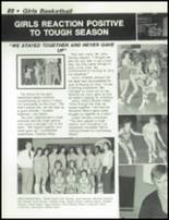 1984 Dayton Christian High School Yearbook Page 92 & 93