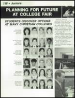 1984 Dayton Christian High School Yearbook Page 122 & 123