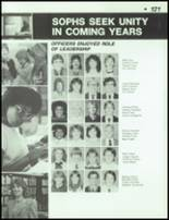 1984 Dayton Christian High School Yearbook Page 124 & 125