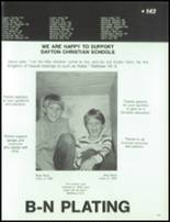 1984 Dayton Christian High School Yearbook Page 146 & 147