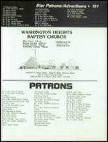 1984 Dayton Christian High School Yearbook Page 154 & 155