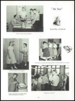 1958 Mauston Area High School Yearbook Page 42 & 43