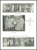 1958 Mauston Area High School Yearbook Page 46 & 47