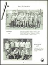 1958 Mauston Area High School Yearbook Page 86 & 87