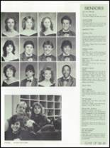 1986 Osbourn Park High School Yearbook Page 84 & 85
