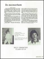 1986 Osbourn Park High School Yearbook Page 110 & 111