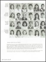 1986 Osbourn Park High School Yearbook Page 126 & 127