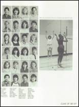 1986 Osbourn Park High School Yearbook Page 140 & 141