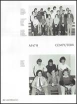 1986 Osbourn Park High School Yearbook Page 186 & 187
