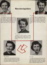 1956 Portage Central High School Yearbook Page 12 & 13