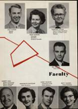 1956 Portage Central High School Yearbook Page 16 & 17