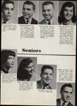 1956 Portage Central High School Yearbook Page 22 & 23