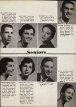 1956 Portage Central High School Yearbook Page 24 & 25