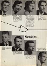 1956 Portage Central High School Yearbook Page 28 & 29