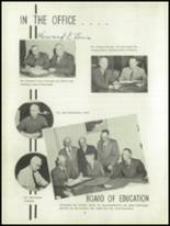1952 Oakfield-Alabama High School Yearbook Page 10 & 11