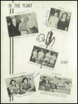 1952 Oakfield-Alabama High School Yearbook Page 12 & 13
