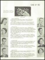 1952 Oakfield-Alabama High School Yearbook Page 14 & 15