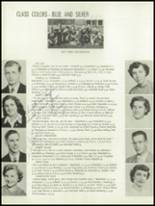 1952 Oakfield-Alabama High School Yearbook Page 16 & 17