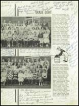 1952 Oakfield-Alabama High School Yearbook Page 24 & 25