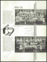 1952 Oakfield-Alabama High School Yearbook Page 26 & 27