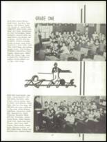 1952 Oakfield-Alabama High School Yearbook Page 30 & 31