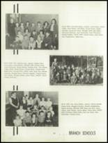 1952 Oakfield-Alabama High School Yearbook Page 34 & 35