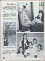 1990 Lavaca High School Yearbook Page 92 & 93