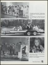 1990 Lavaca High School Yearbook Page 110 & 111