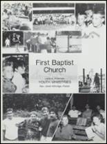 1990 Lavaca High School Yearbook Page 132 & 133