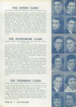 1936 Wheaton Community High School Yearbook Page 42 & 43