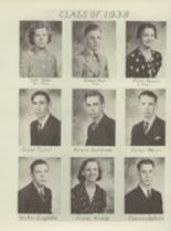 1938 Portage Area High School Yearbook Page 20 & 21